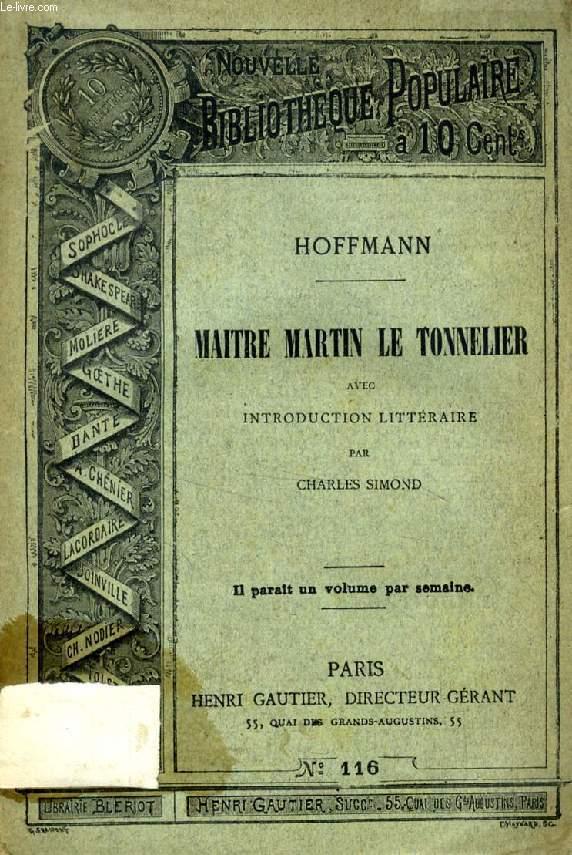 MAITRE MARTIN LE TONNELIER