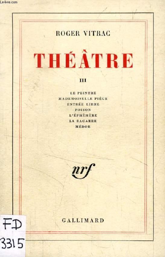 THEATRE, TOME III