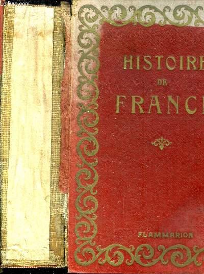 HISTOIRE DE FRANCE I - MOYEN AGE ET RENAISSANCE