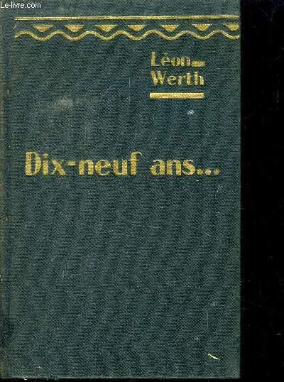 DIX NEUF ANS