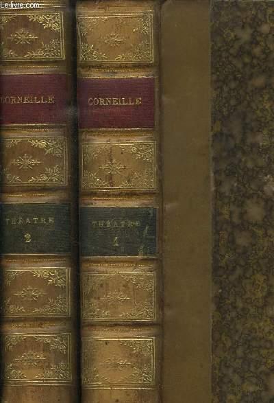 THEATRE DE CORNEILLE / EN 2 VOLUMES : TOMES 1 + 2