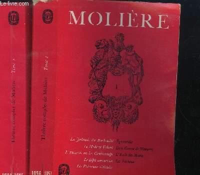 THEATRE COMPLET - EN 2 VOLUMES : TOME 1 N°1056/1057  + TOME 2  N°1094-1095