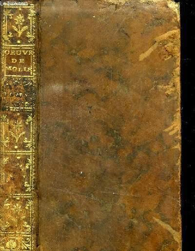 OEUVRES DE MOLIERE- TOME CINQUIEME // SOMMAIRE : AMPHITRYON - L AVARE - GEORGE DANDIN - FESTE DE VERSAILLES EN 1668