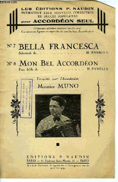 BELLA FRANCESCA / MON BEL ACCORDEON