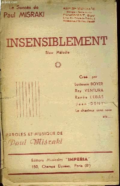 INSENSIBLEMENT