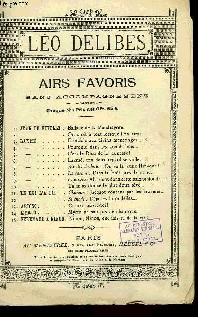 AIRS FAVORIS N°4