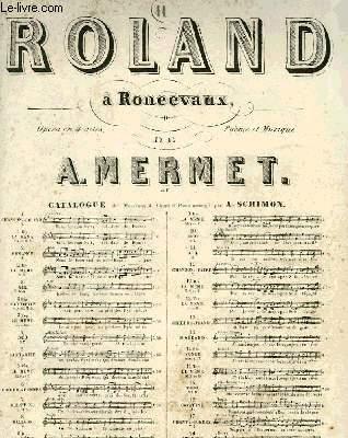 ROLAND A RONCEVAUX