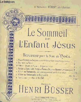 LE SOMMEIL DE L'ENFANT JESUS