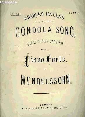 CONDOLA SONG