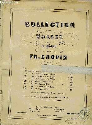 COLLECTION DE VALSES POUR LE PIANO