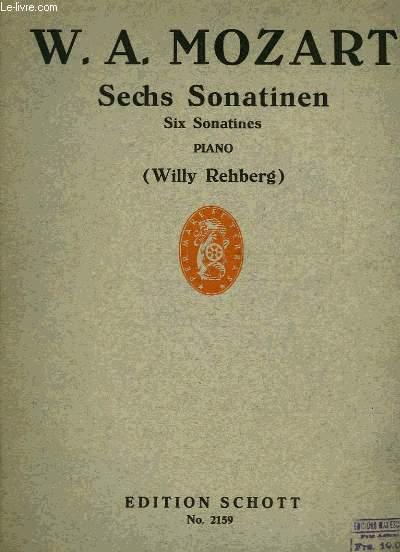 SIX SONATINES