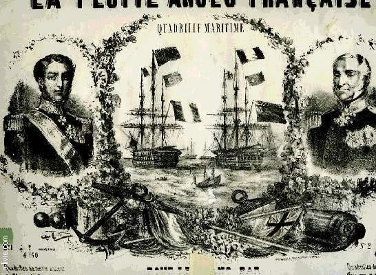 LA FLOTTE ANGLO-FRANCAISE