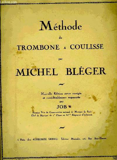 METHODE DE TROMBONE A COULISSE