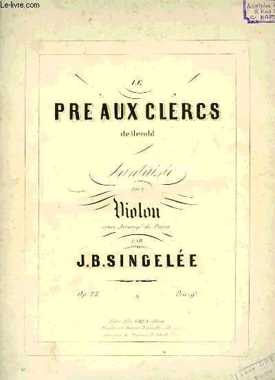 LE PRE AUX CLERCS