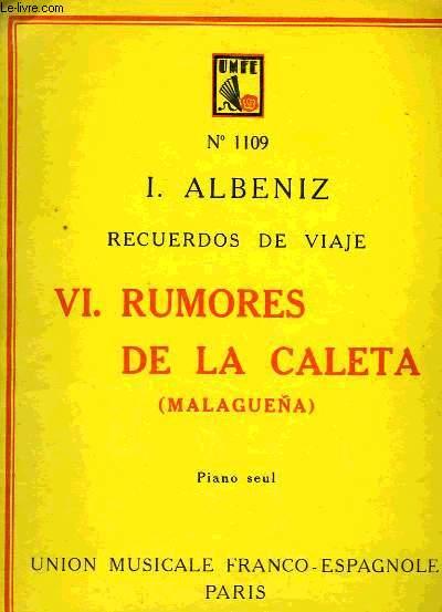VI - RUMORES DE LA CALETA