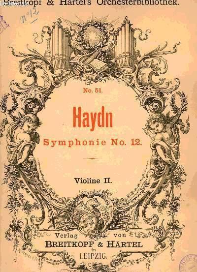 SYMPHONIE N°12