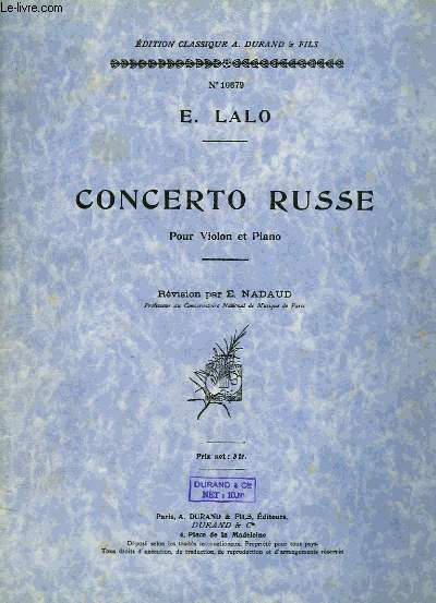 CONCERTO RUSSE