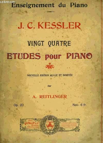 VINGT QUATRE ETUDES POUR PIANO