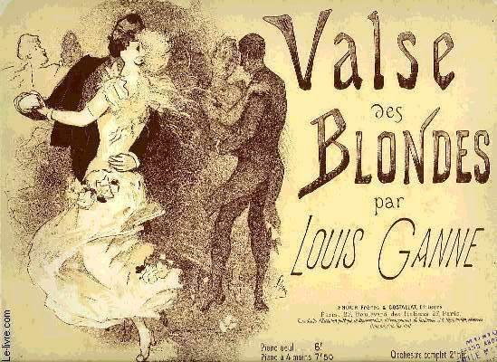 VALSE DES BLONDES