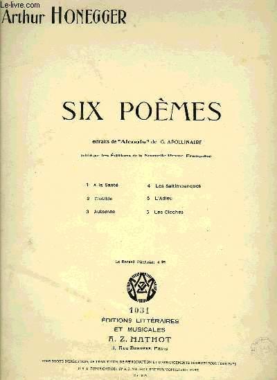 SIX POEMES