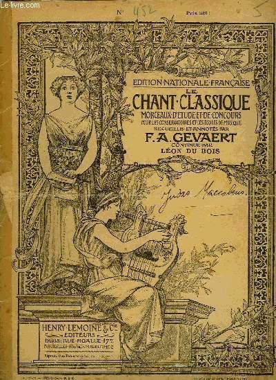 LE CHANT CLASSIQUE N°452
