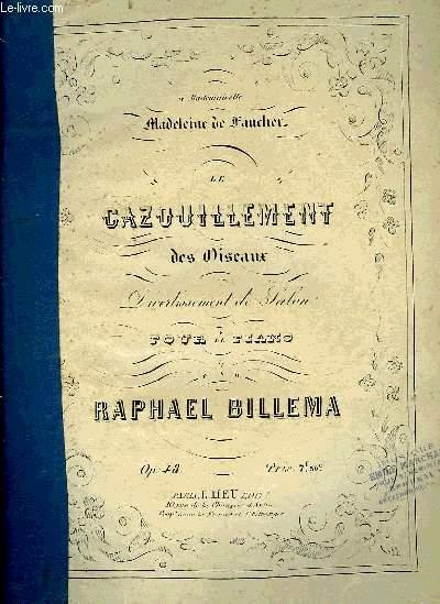 LE GAZOUILLEMENT DES OISEAUX