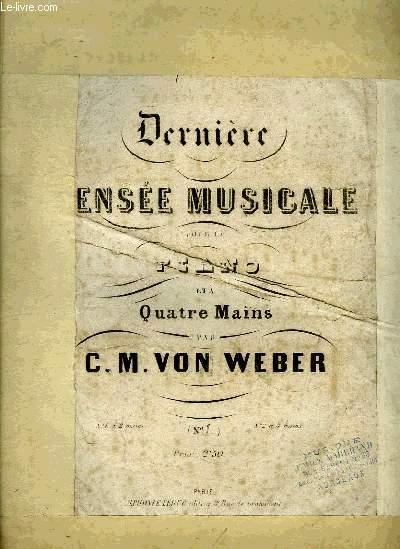 DERNIERE PENSEE MUSICALE
