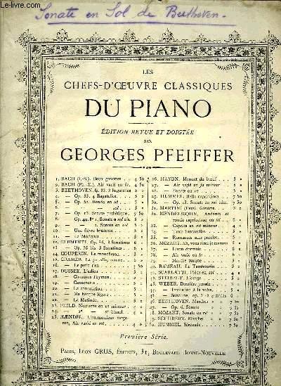 LES CHEFS-D'OEUVE CLASSIQUE DU PIANO