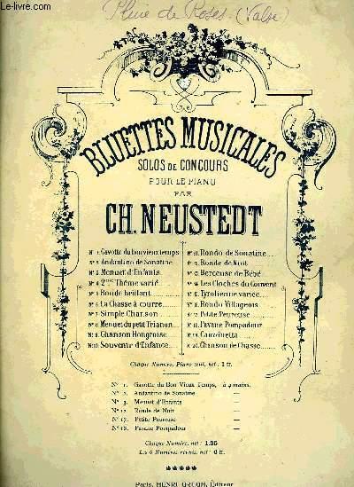 BLUETTES MUSICALES