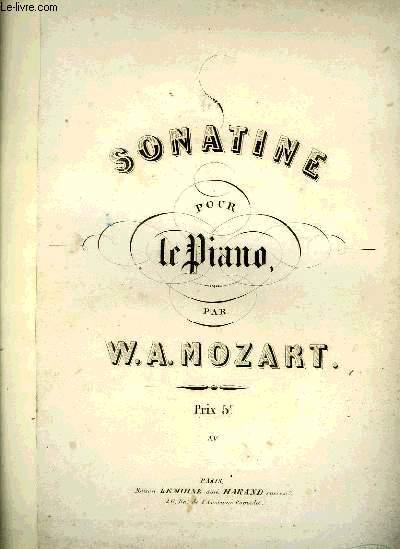 SONATINE POUR LE PIANO