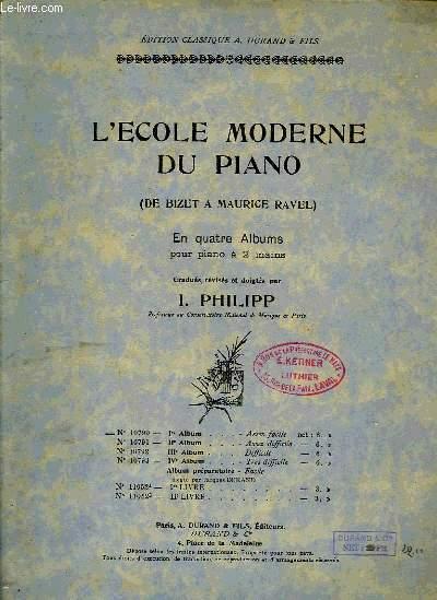 L'ECOLE MODERNE DU PIANO