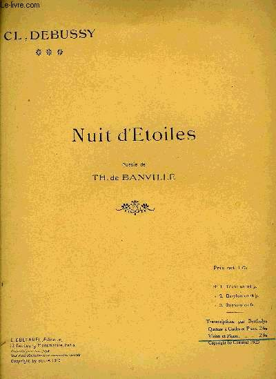 NUITS D'ETOILES