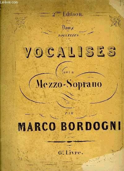VOCALISES POUR MEZZO-SOPRANO