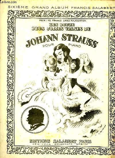 LES DOUZE PLUS GRANDES VALSES DE JOHANN STRAUSS
