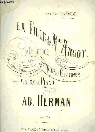 LA FILLE DE MME ANGOT