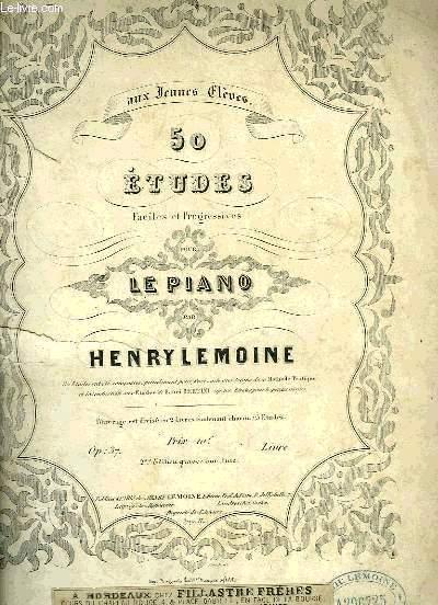 50 ETUDES POUR LE PIANO