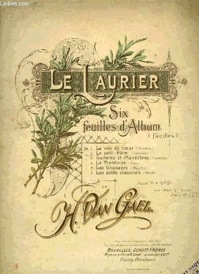 LE LAURIER, SIX FEUILLES D'ALBUM