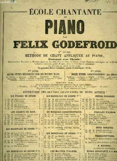 ECOLE CHANTANTE DU PIANO