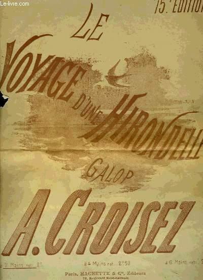 LE VOYAGE D'UNE HIRONDELLE