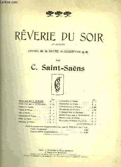 REVERIE DU SOIR
