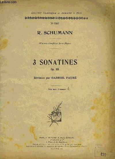 3 SONATINES
