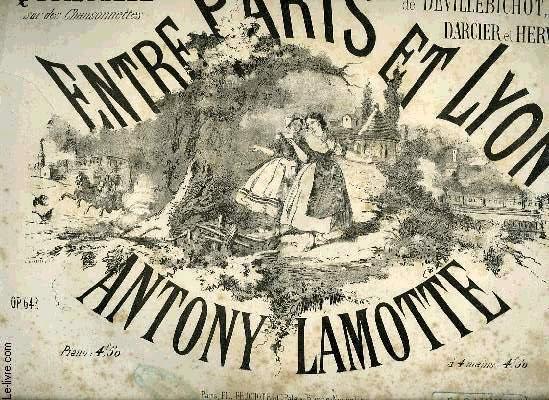 ENTRE PARIS ET LYON