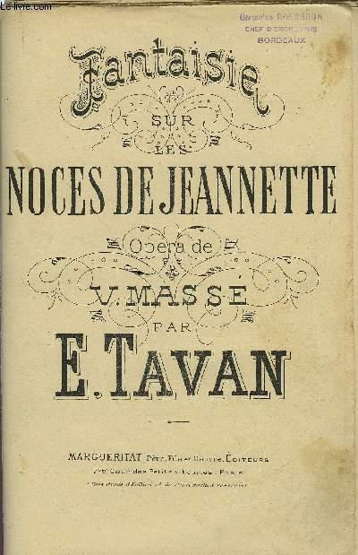 LES NOCES DE JEANNETTE