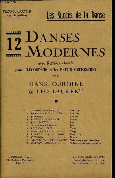 12 DANSES MODERNES