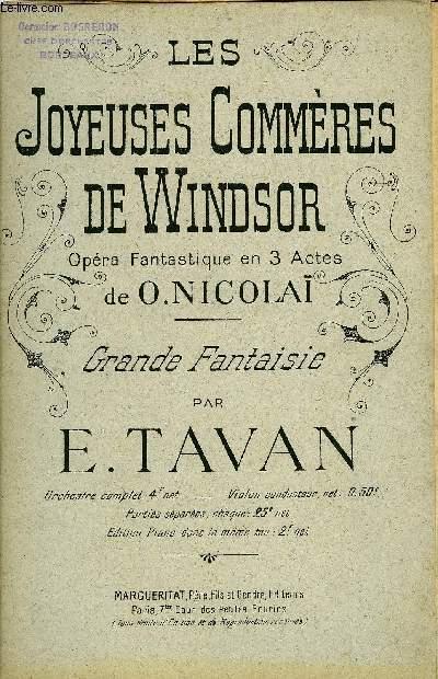 LES JOYEUSES COMMERES DE WINDSOR