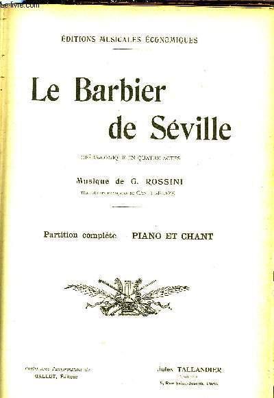 LE BERBIER DE SEVILLE
