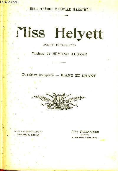 MISS HELYETT