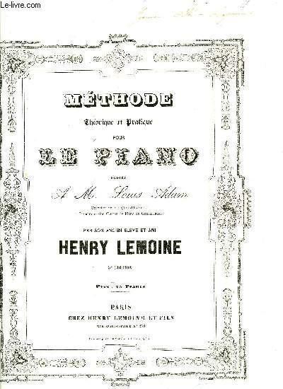 METHODE THEORIQUE ET PRATIQUE POUR LE PIANO