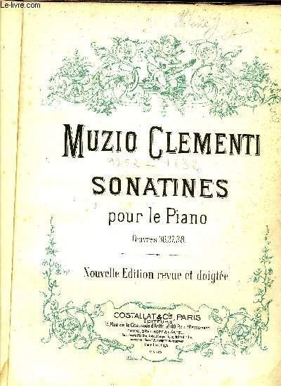 SONATINES POUR PIANO