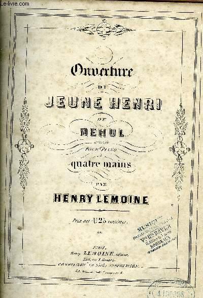 OUVERTURE DU JEUNE HENRI DE MEHUL